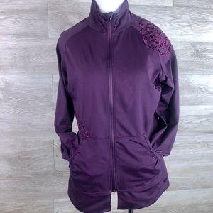 REI Active Zip Up Jacket-Size M